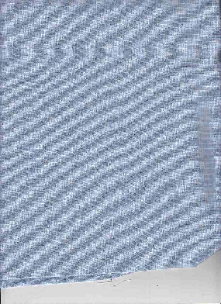 LIN-C-STP-615 / SKY/WHITE / LINEN COTTON YARN DYE STRIPE 55/45
