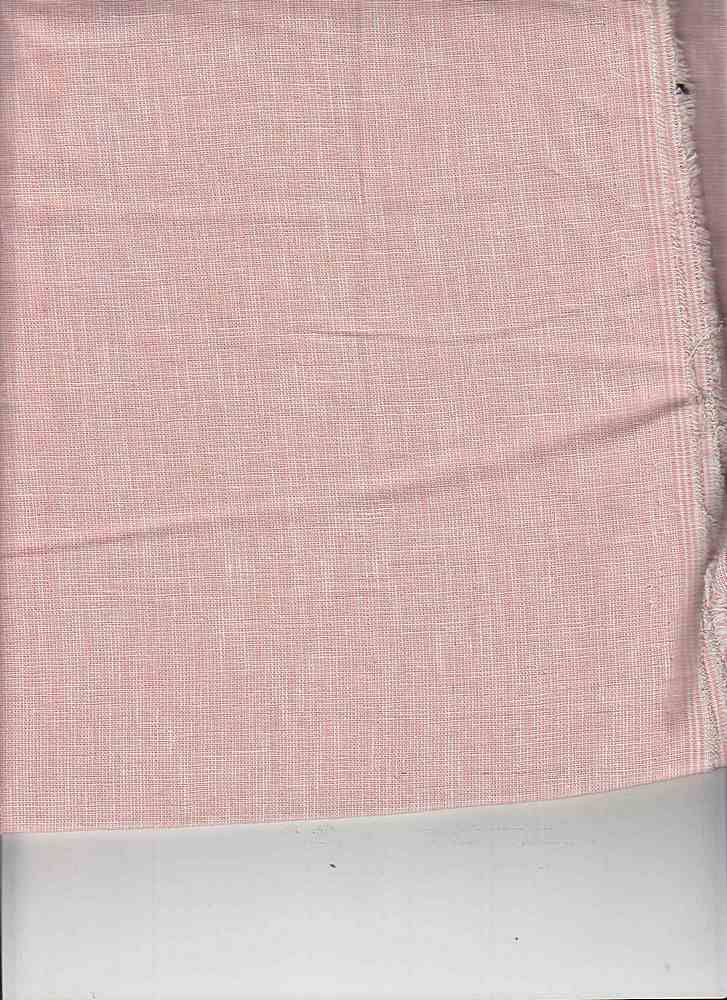 <h2>LIN-C-STP-615</h2> / PEACH/WHITE                 / LINEN COTTON YARN DYE STRIPE 55/45
