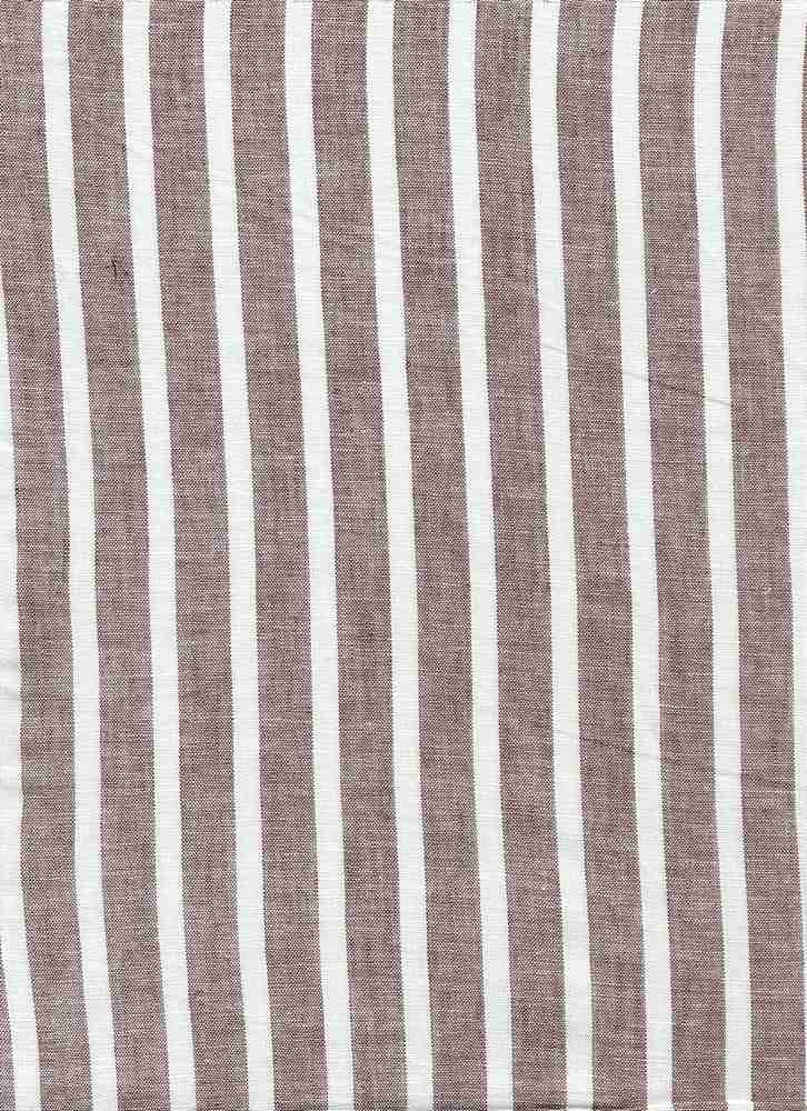 <h2>LIN-STP-997</h2> / GRAY/WHITE                 / LINEN COTTON Y/D STRIPE 55/45