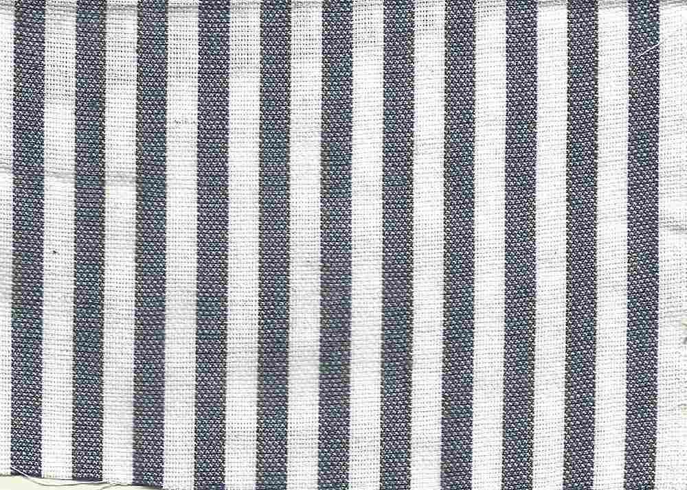 CHAM-STP-267 / NAVY/WHITE / 100% Cotton OXFORD Y/D STRIPE