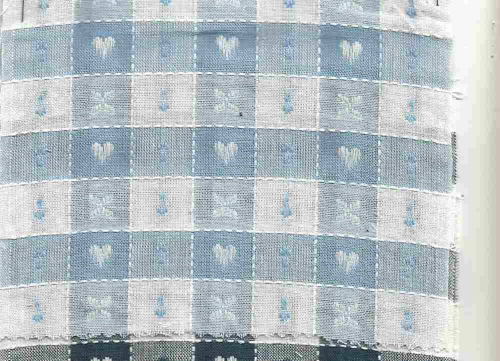 POP-DB-1314 / BLUE/AHLTE / 100% Cotton POPLIN Dobby