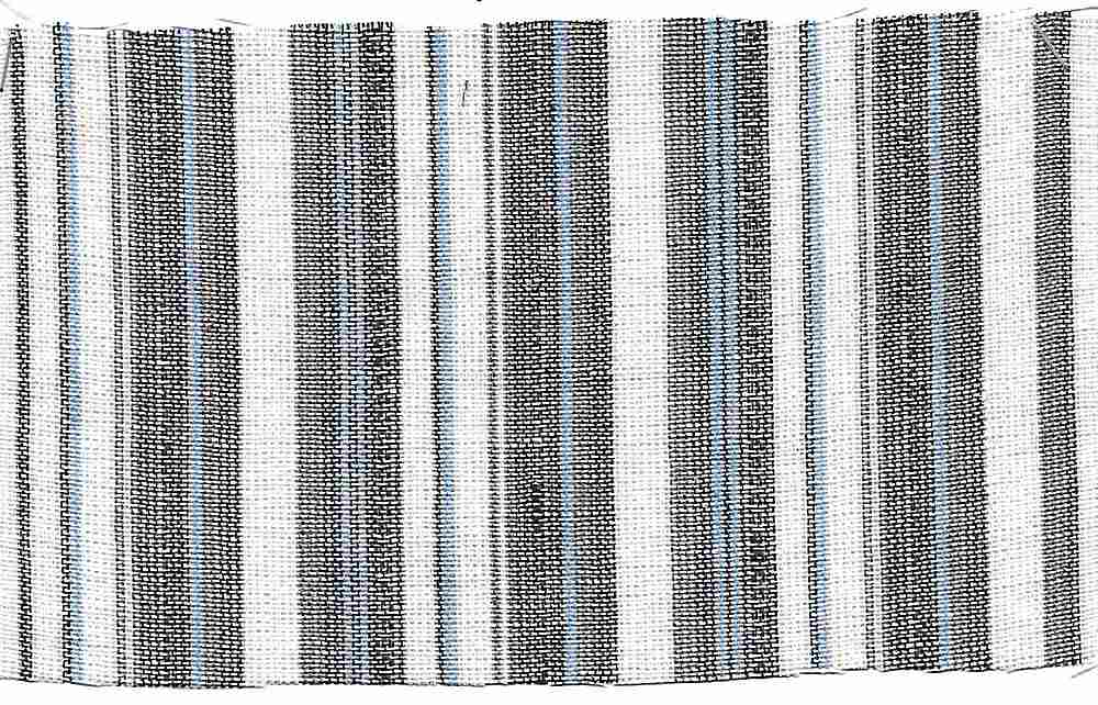 <h2>LIN-STP-2503</h2> / BLUE                 / LINEN RAYON Y/D STRIPE 55/45