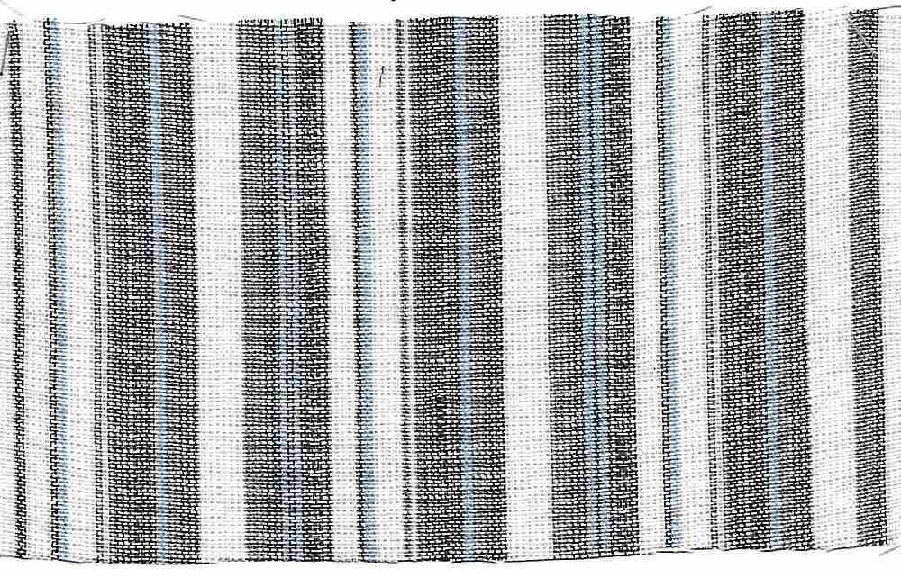LIN-STP-2503    / BLUE                 / LINEN RAYON Y/D STRIPE 55/45