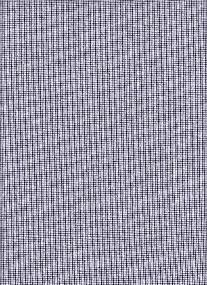 POP-CHK-816 / NAVY / 100 % COTTON CHECKER