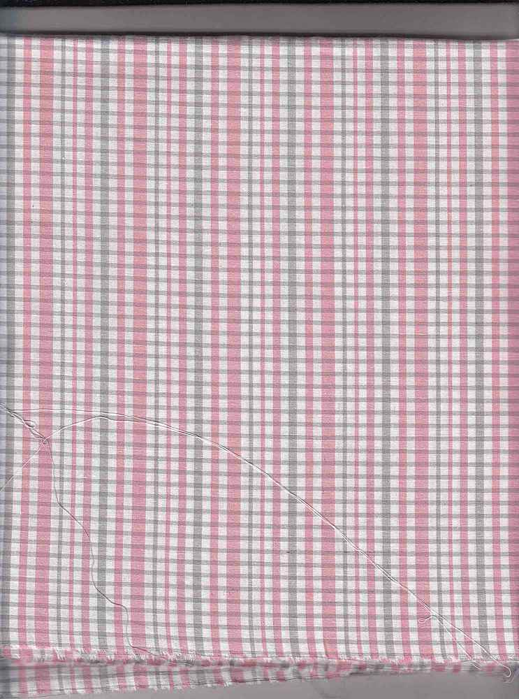 POPS-STP-416 / PINK/GRAY / ST.COTTON POPLIN STRIPE 97/3