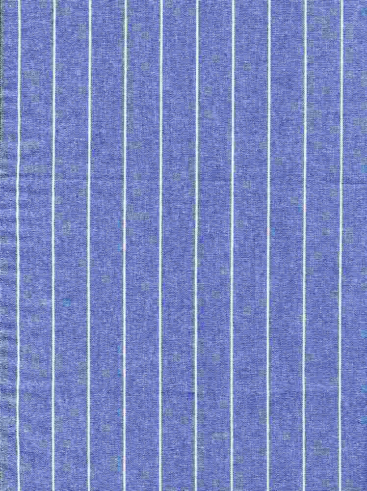 CHAM-STP-3/4 / BLUE#5 / 100%COTTON STRIPE CHAMBRAY 3/4""