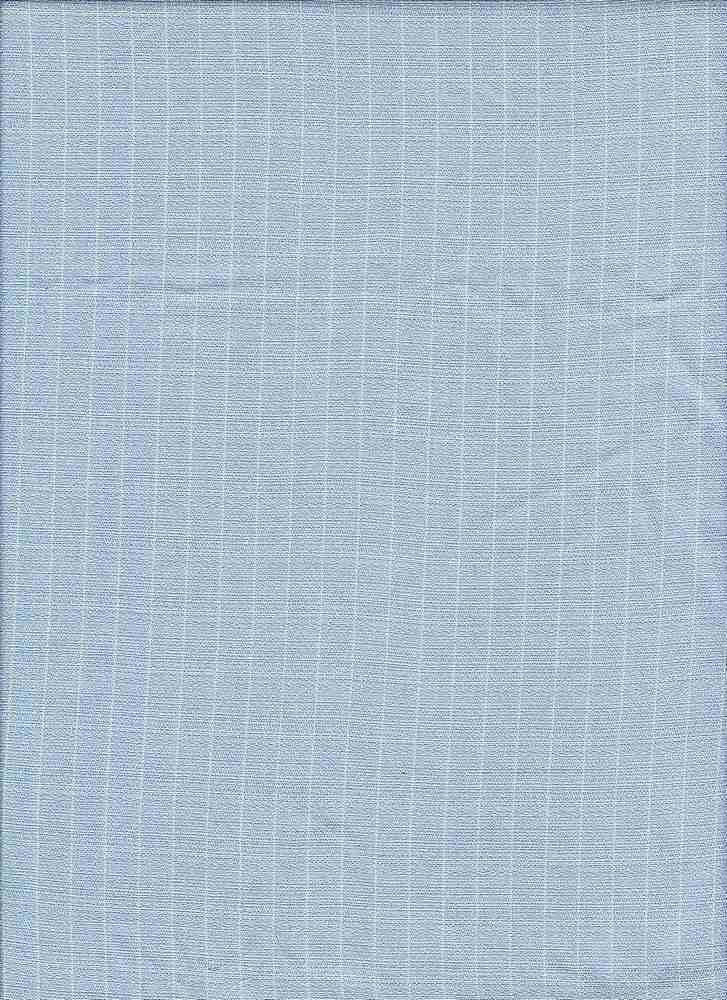 RYN-STP-5472 / SKY / 100%Rayon CHAMBRAY STRIPE